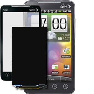HTC EVO 4G A9292 PC36100 PC36100 Glass & LCD Replacement