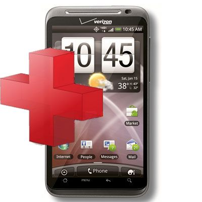 HTC Thunderbolt ADR 6400 Diagnostic Service