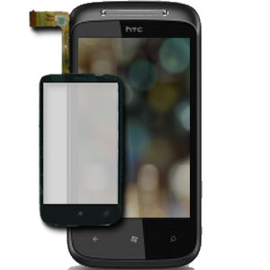 HTC 7 Mozart Glass / Touch Screen Replacement