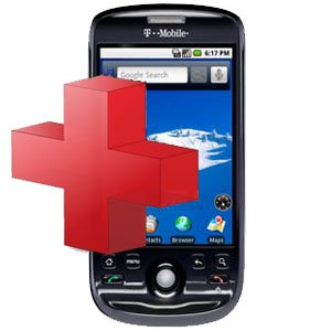 HTC MyTouch 3G Diagnostic Service