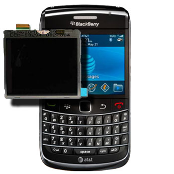 BlackBerry Bold 9700 Glass & LCD Replacement