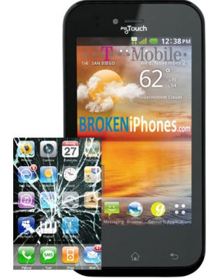 LG MyTouch 4G (E739) Glass Touch Screen Replacement