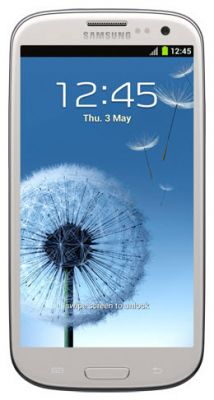 Galaxy S III S3 Display WHITE i535 i747 i9300 T999 L710
