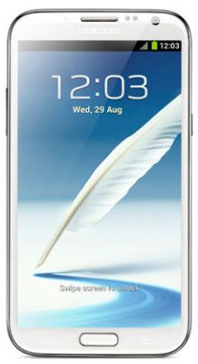 Samsung Galaxy Note i717 WHITE Glass Display / Touch Screen