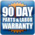 90-Warranty on all repairs